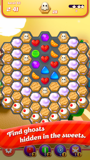 Code Triche Sugar Witch: Hexa Blast APK MOD screenshots 1