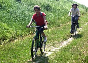 Photo: Le nostre due cicliste.
