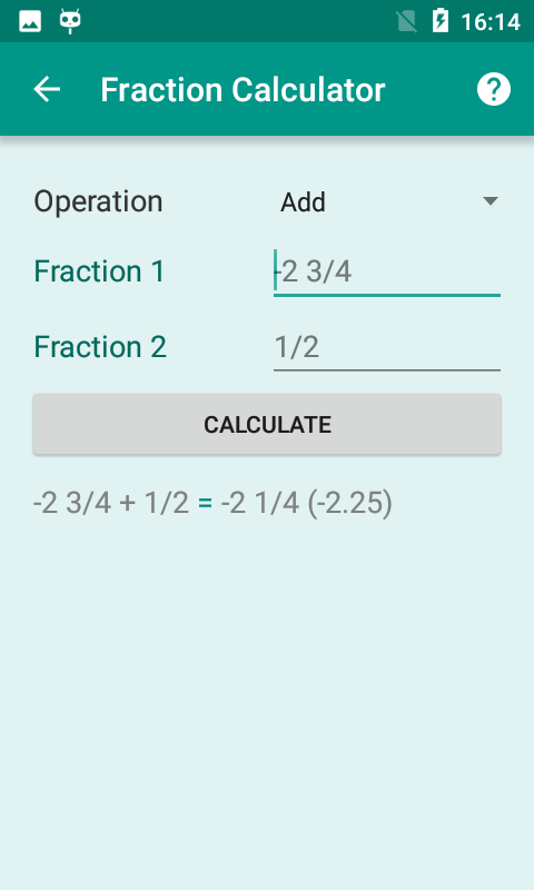 All-in-one Calculator Free- screenshot