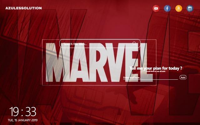Marvel Wallpaper - New Tab Theme