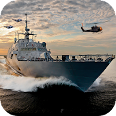 Navy Gunship Shooting Battle
