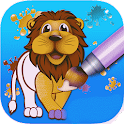 painting app for kids icon