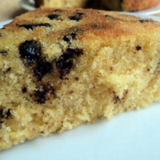 Orange Choco Chip Cake