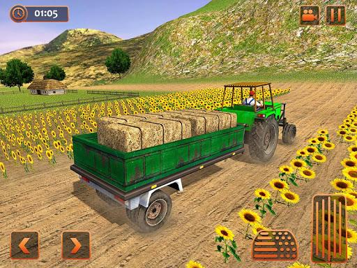 Farm Tractor Cargo Driving Simulator 20 1.5 screenshots 12