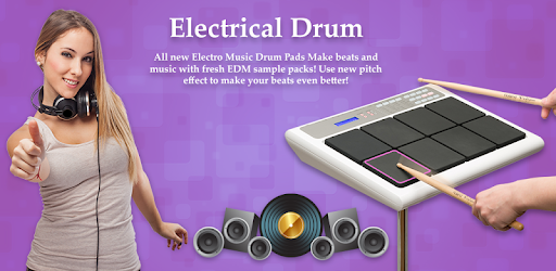 Electro Drum Pads 48 for PC