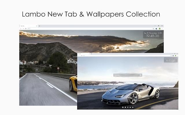 Lambo New Tab & Wallpaper Collection