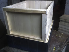 Photo: Nowo zrobiony środek gniazdowy musi pasować do wszystkich  pół nadsrawek zrobionych wczesniej