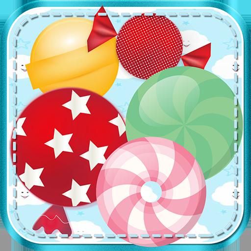 楽しいキャンディマッチポップマニア 解謎 LOGO-玩APPs