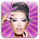Hairstyle Try on Photos Editor icon
