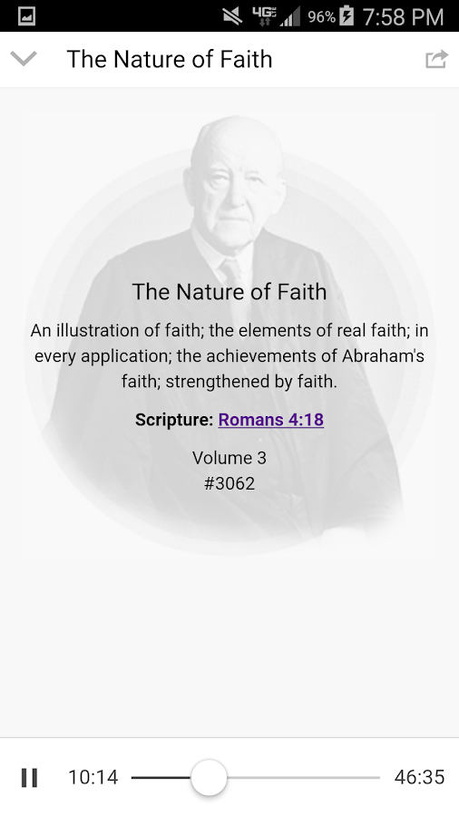 MLJ Sermons App- screenshot