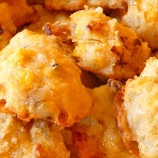 BACON AND ONION CHEESE PUFFS.