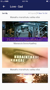 Tamil Video Song Status - náhled