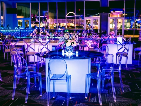 By Dzign will Design your event, supply your event rentals and manage your event with a strip view.