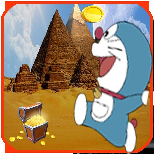 Super Doramon pyramids Run