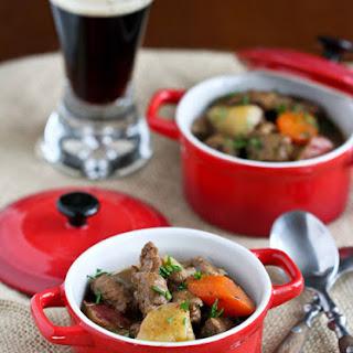 Irish Stew With Lamb, Potatoes And Carrots.