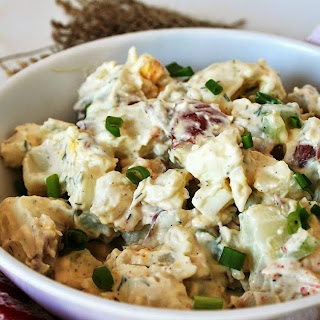 Perfect Red Skin Potato Salad