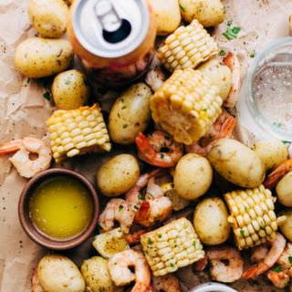 Garlic Loaded Southern Style Shrimp Boil.