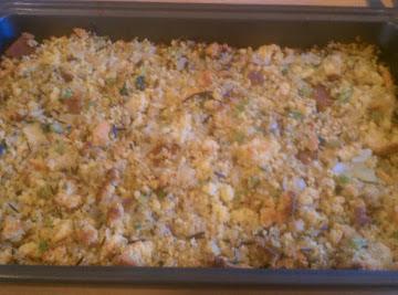 Big Bill's Wild Rice & Cornbread Dressing Recipe