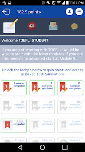 TEX Practice for the TOEFL®- screenshot thumbnail