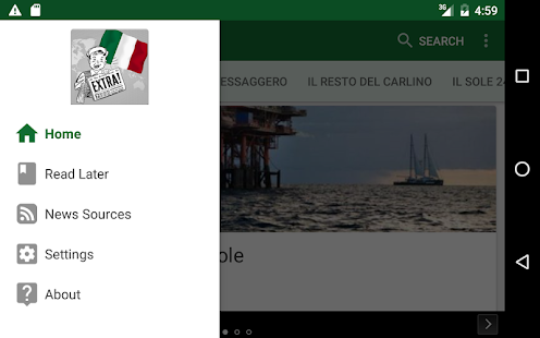 Italia Notizie- screenshot thumbnail