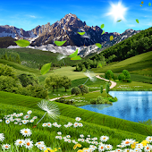 Summer Landscape Wallpaper