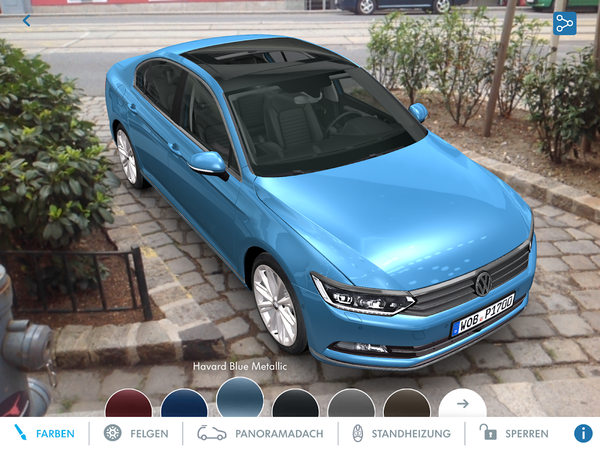 Volkswagen seeMore (AT) – Screenshot