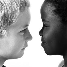 friends from birth by Linda Stander - Babies & Children Children Candids