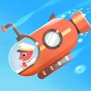 Dinosaur Submarine - Submarine simulator games