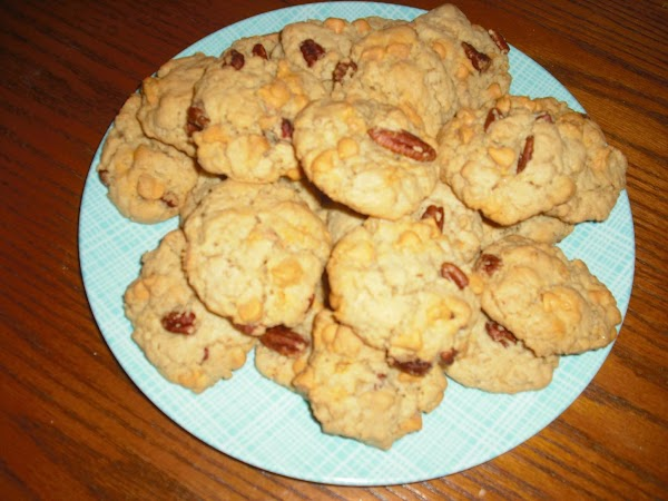 Oatmeal Butter Pecan Cookies Recipe