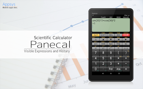 Panecal Scientific Calculator - náhled