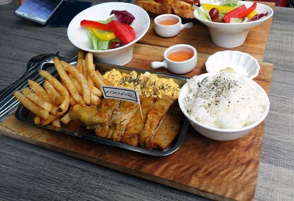 台南早午餐|1004 Brunch *邊吃韓式早午餐、邊看韓國MV,享受悠閒時光!