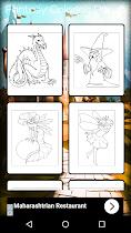 Fantasy Coloring Book - screenshot thumbnail 13