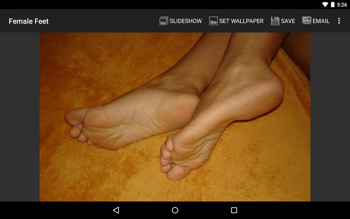Female Feet- screenshot