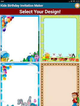 Download kids birthday invitation maker by sendgroupsms bulk kids birthday invitation maker by sendgroupsms bulk sms software poster stopboris Gallery