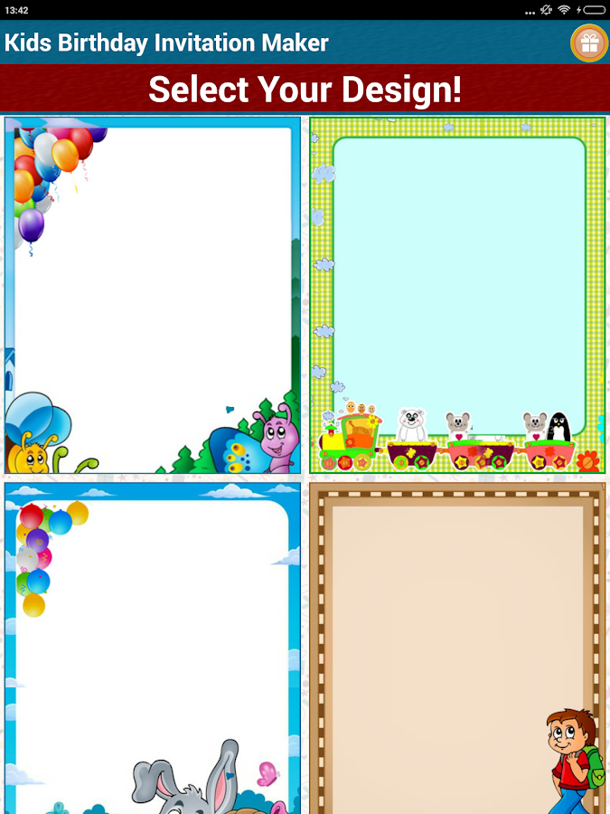 Kids Birthday Invitation Maker Android Apps on Google Play – Birthday Invitation Maker