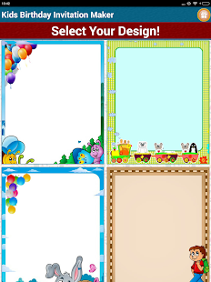 Kids birthday invitation maker apps on google play screenshot image stopboris