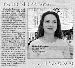Photo: 12-04-97 Christelle Rougeron, passeuse de la R1F