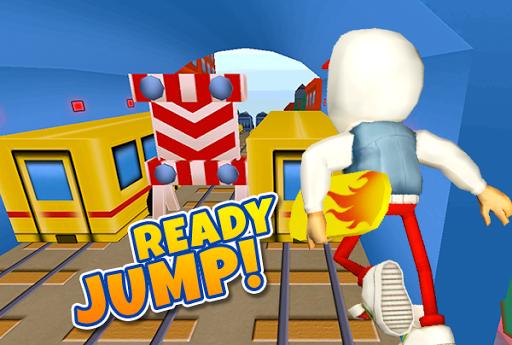 3D Train Castle Kids Surf Run