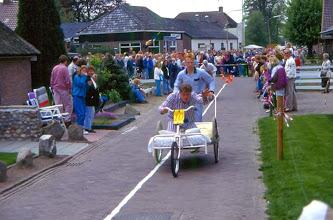 Photo: Beddenrace Anne Oldenhuizing en Egbert de Jonge