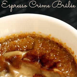 Espresso Crème Brûlée.