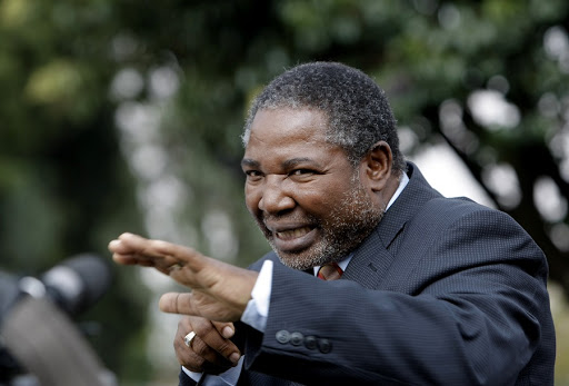 Charles Nqakula. Picture: REUTERS/MIKE HUTCHINGS