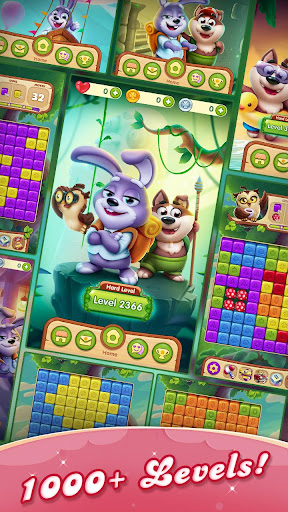 Puppy Blast™️ - pets puzzle adventure apktreat screenshots 2