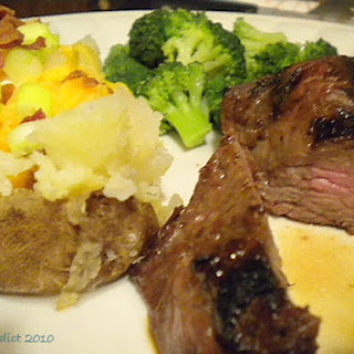 Jamaican Brewmaster Steak.
