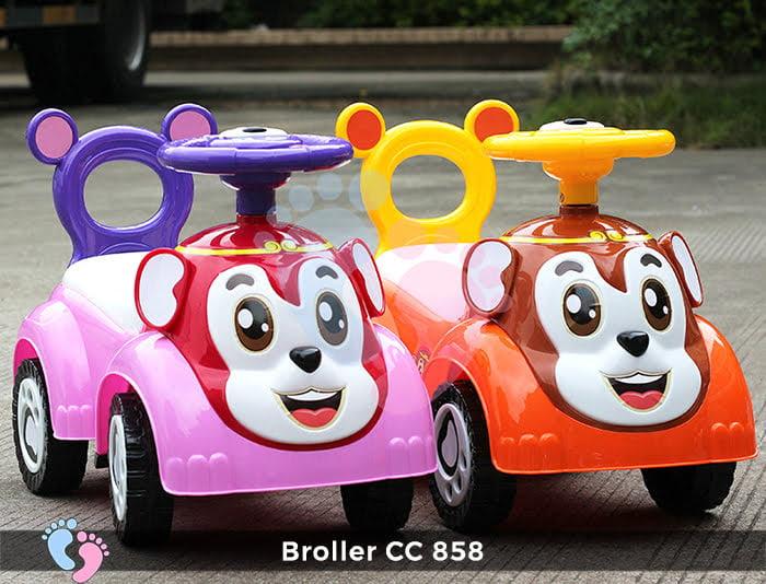 Xe chòi chân Broller CC-858 9
