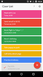 Clear List To-Do & Reminder- screenshot thumbnail