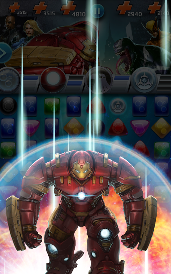 Marvel Puzzle Quest- screenshot