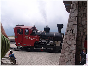 Photo: Tren de vapor en Schafbergspitze. Austria http://www.viajesenfamilia.it/