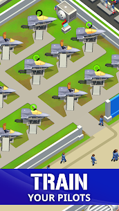 Idle Air Force Base Mod Apk Download For Android 2