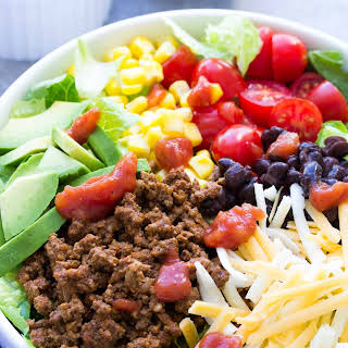20 Minute Healthy Taco Salad.