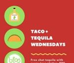 Blos Cafe Taco + Tequila Wednesday : Blos Cafe